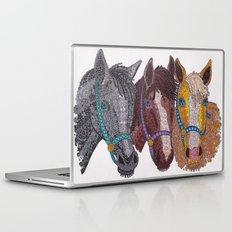 Horse Triptych #2 Laptop & iPad Skin