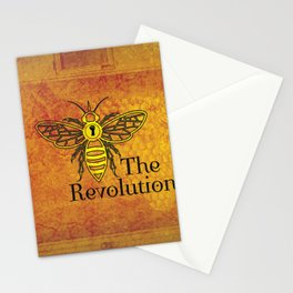Bee the Revolution Stationery Cards