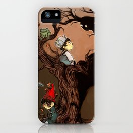 Over The Garden Wall- Wirt, Greg, Beatrice, and The Beast iPhone Case