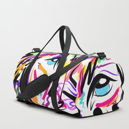 Leo Lion Lines Duffle Bag