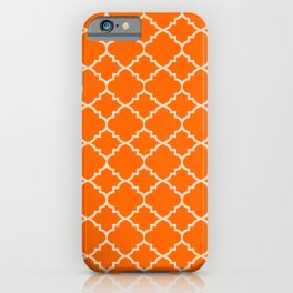 Marmalade Moroccan Quatrefoil iPhone Case