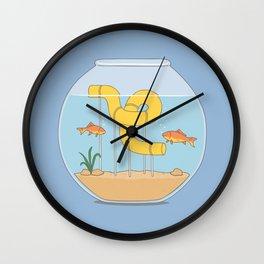 water slide Wall Clock