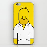homer iPhone & iPod Skins featuring Homer by Ale Giorgini