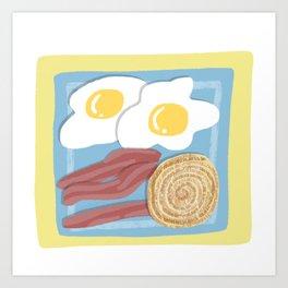Breakfast Platter Art Print