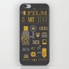 Film is not dead  iPhone Skin