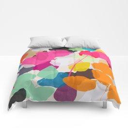 golden rain 1 Comforters