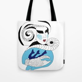 Cancer / 12 Signs of the Zodiac Tote Bag