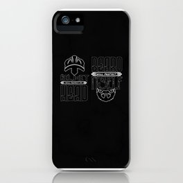 Viking Norse Bearded Warrior iPhone Case