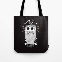 Dead Eye Derek (Black) Tote Bag