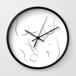 Private Parts Wall Clock