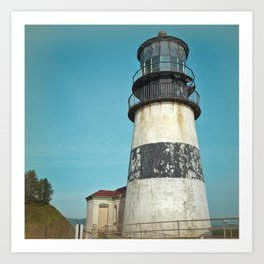 Cape Disappointment Pacific Ocean Washington Northwest Lighthouse Coast Guard Boats Gothic Architect Art Print