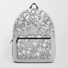 Dazzling Silver Gradient  Backpack
