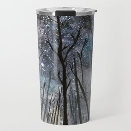 The Woods at Midnight Travel Mug