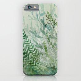 Ferns and Fog iPhone Case