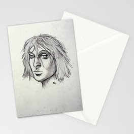 Cobain of the Rocks Stationery Cards