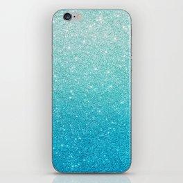 Ombre glitter #13 iPhone Skin
