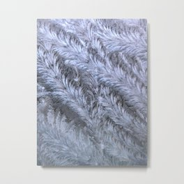 Icy swirls Metal Print