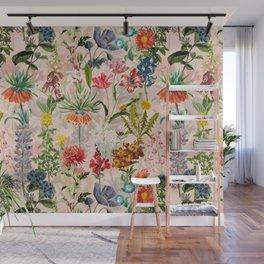 Vintage & Shabby Chic -  Spring Botancial Flower Garden Art Print Wall Mural