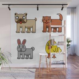 pets Wall Mural