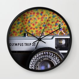 Shrunk the people 2 Wall Clock