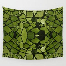 Mosaic - Fern Green Wall Tapestry