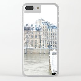 Stairway to the Seine Clear iPhone Case