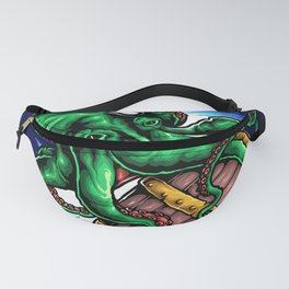 Octopus King Fanny Pack