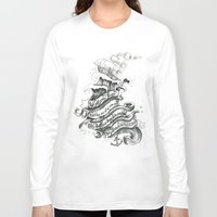 chelsea Long Sleeve T-shirts featuring Chelsea Smile by Becca Douglas