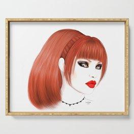 Cassia - Redhead Beauty Serving Tray