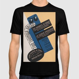 Vintage Theatre Opera Poster - The Romance of Robot - New York City History T-shirt
