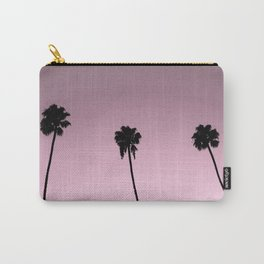 pink skies and palm trees Carry-All Pouch