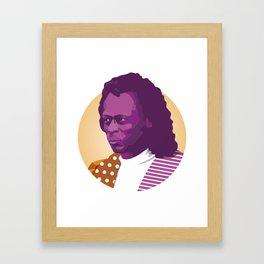 Jazz legend Framed Art Print