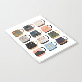 Coffee Cup Collection 2 Notebook
