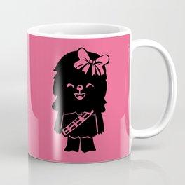 Baby Girl Wookie in Pink Graphic Coffee Mug