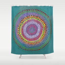 Dotto 24 Shower Curtain