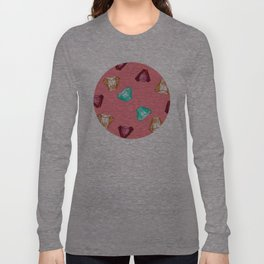 Bubblegum Diamonds Long Sleeve T-shirt