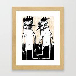 Sup Dude? Framed Art Print