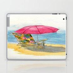 Beach Chair Laptop & iPad Skin