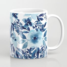 Blue Willow Florals Coffee Mug