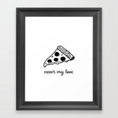 never my love Framed Art Print