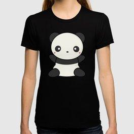 Kawai Cute Hugging Panda T-shirt