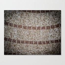 Mosaic Tiles Canvas Print