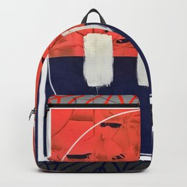 Stitch in Time - circle/square graphic Backpack