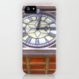 Paddington Station Clock iPhone Case