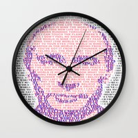 putin Wall Clocks featuring the world is mine by KrisLeov