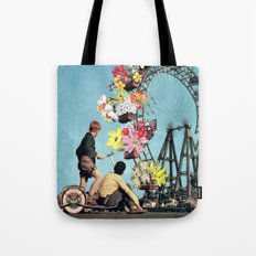 Bloomed Joyride Tote Bag