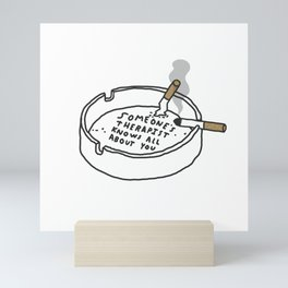 Therapy Tray Mini Art Print