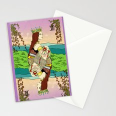 The Queen (Twins) Stationery Cards