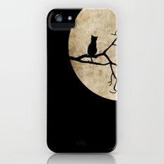 Cat Night iPhone (5, 5s) Slim Case