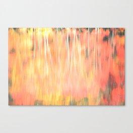 Blur of Autumn Canvas Print
